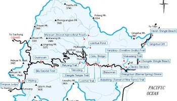 Transportation from Taipei to Taroko National Park 太魯閣