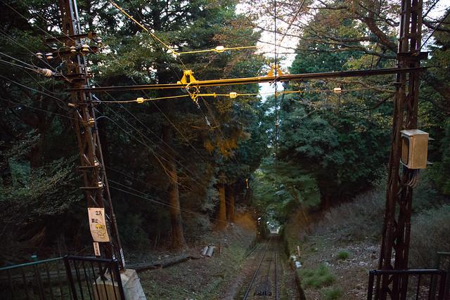 比叡ケーブルカー #比叡山への旅
