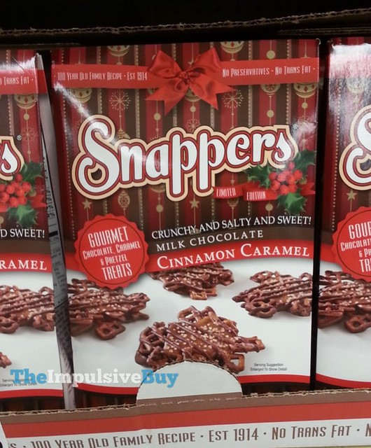Limited Edition Milk Chocolate Cinnamon Caramel Snappers