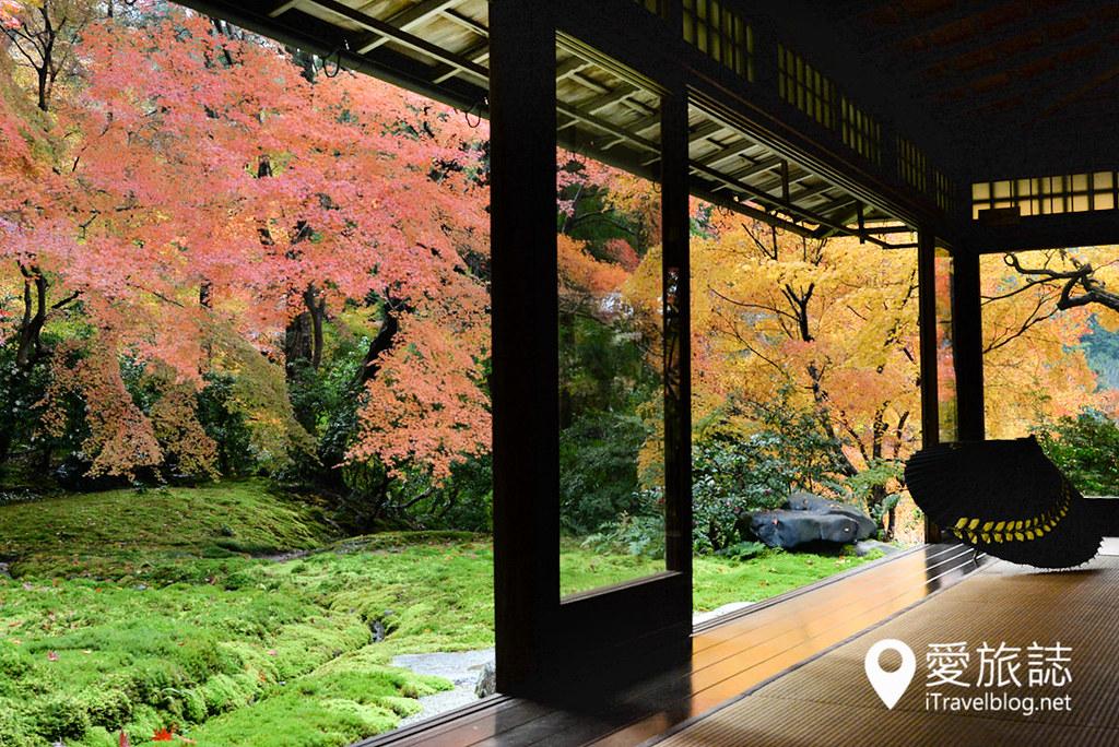 京都賞楓景點 琉璃光院 33