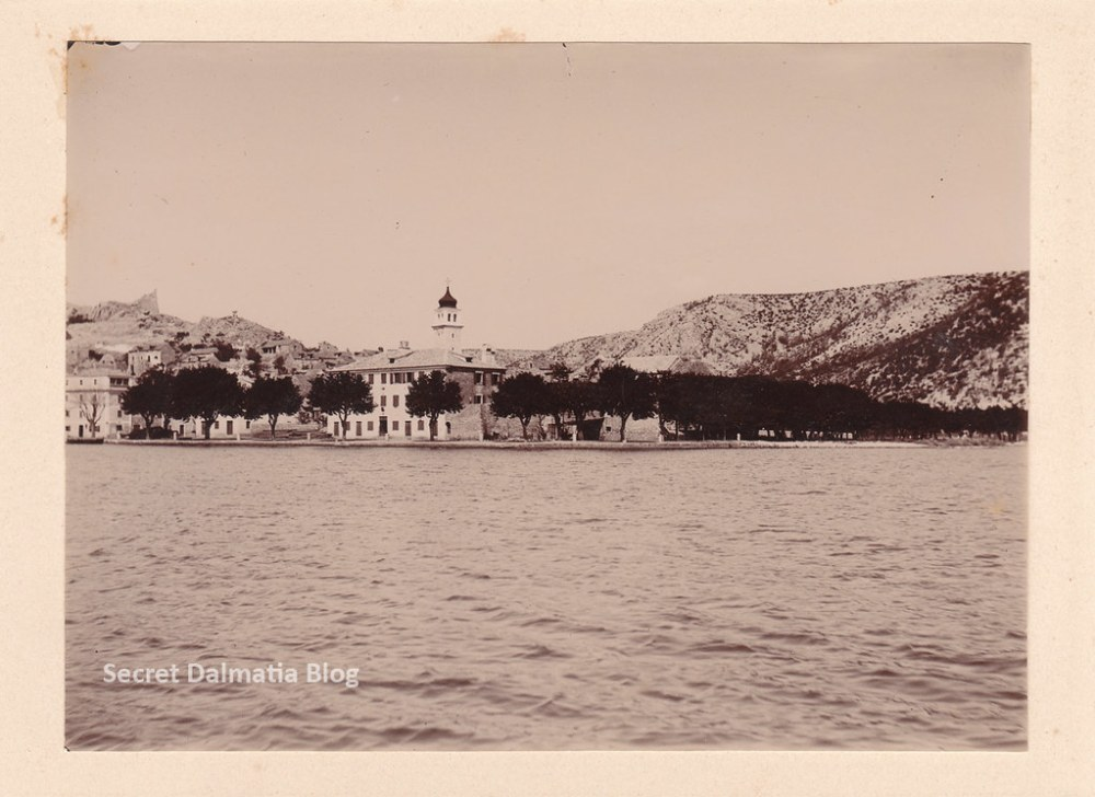 Skradin from the water