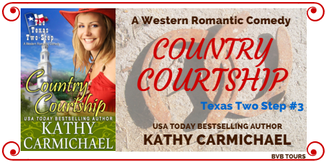 Country Courtship By Kathy Carmichael Texas Two Step Series Book 3 Tour