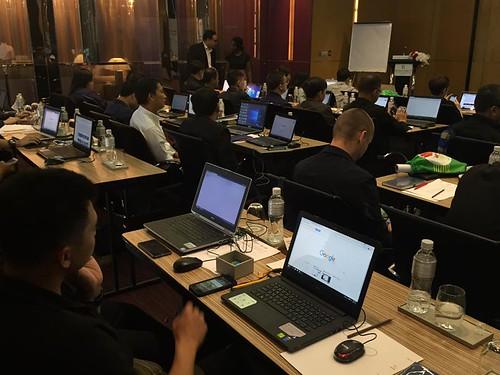 การแถลงข่าวความร่วมมือในการต่อต้านการละเมิดทางเพศเด็กออนไลน์ระหว่าง Thai Hotline, Google และ TICAC