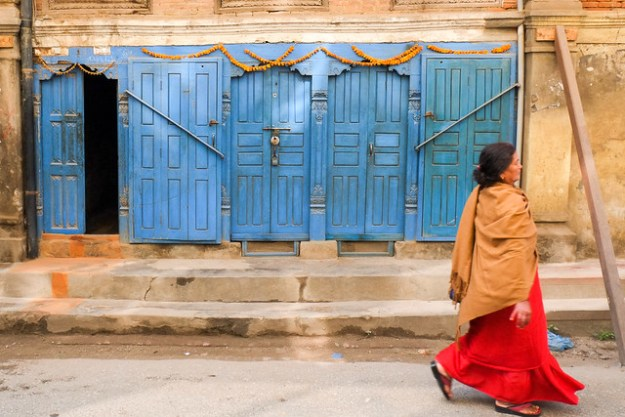 Street. Kathmandu