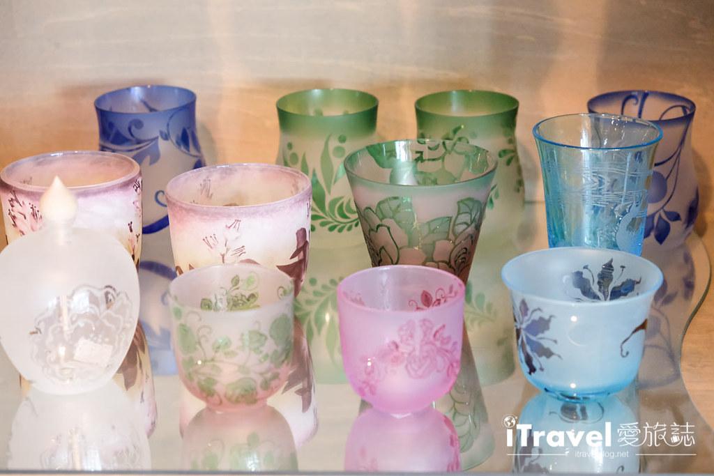 东京手作课程 喷砂玻璃工艺体验 16