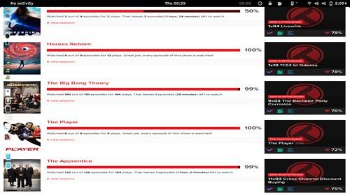 Screenshot of my linux desktop