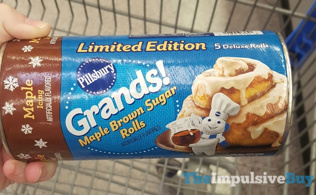 Pillsbury Limited Edition Grands Maple Brown Sugar Rolls
