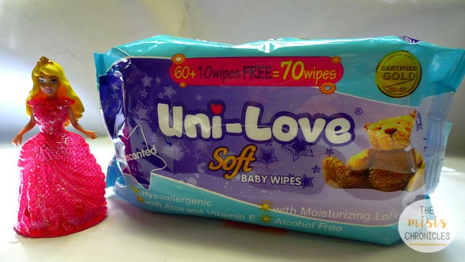 Uni-Love Soft Baby wipes Unscented