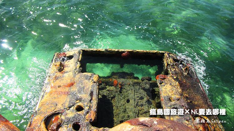 82塞班島坦克車潛水
