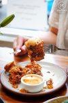 Annato spiced chicken fillet, $7: Devon on Danks, Waterloo. Sydney Food Blog Review