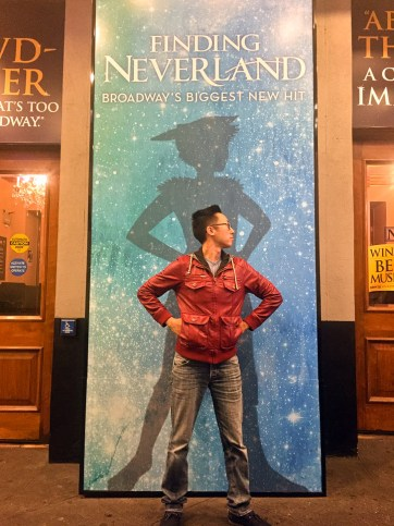 The Finding Neverland Musical - Our first Broadway on Broadway!