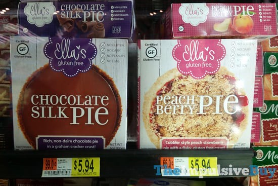 Ella's Gluten Free Chocolate Silk Pie and Peach Berry Pie