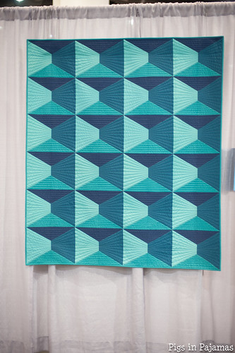 Dimension Quilt by Nydia Kehnle