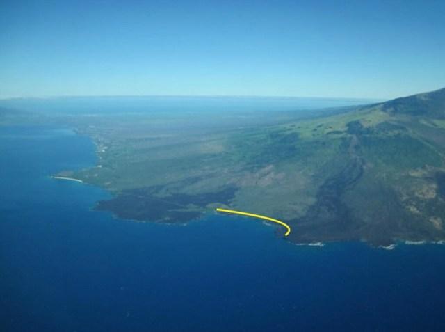 Route Through the Lava Field