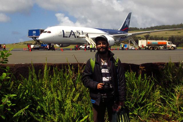 Ariel & Boeing 787 Dreamliner