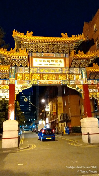 Chinese Arch, Manchester