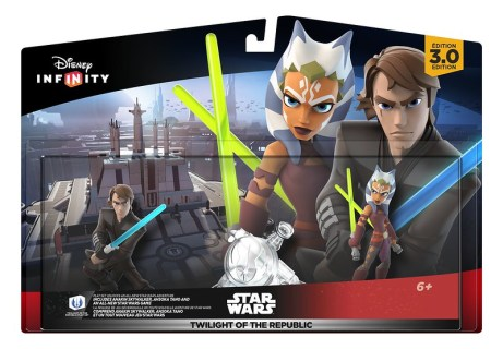 Disney Infinity 3.0 Edition   Star Wars™ Twilight of the Republic Play Set Packaging