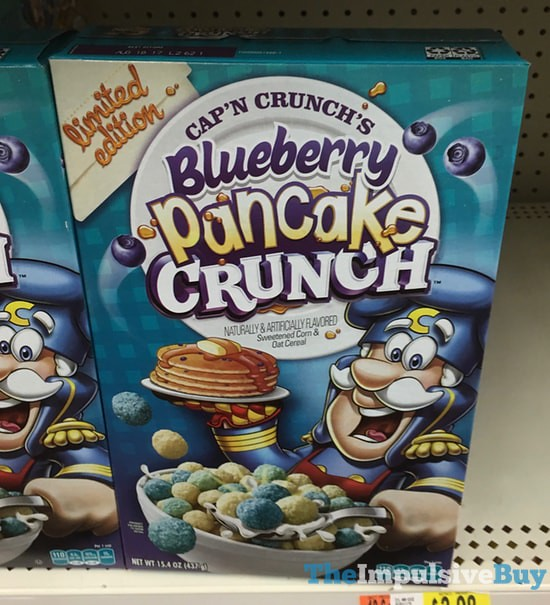 SPOTTED ON SHELVES: Limited Edition Cap'n Crunch Blueberry