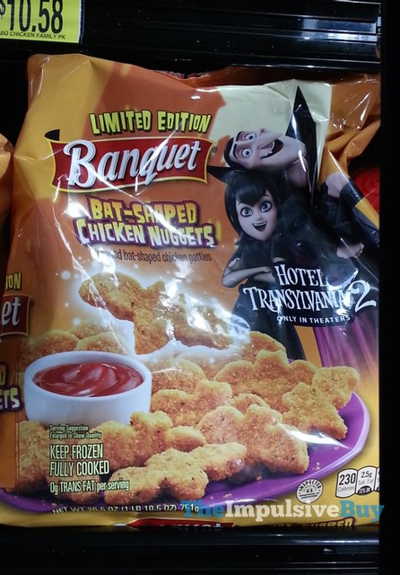 Banquet Limited Edition Hotel Transylvania 2 Bat-Shaped Chicken Nuggets