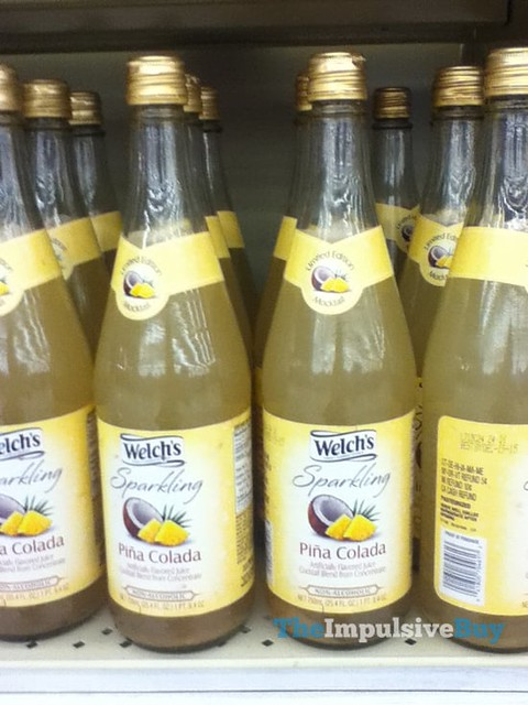 Welch's Sparkling Pina Colada Limited Edition Mocktail