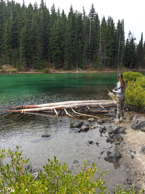 Cascades Lakes highway