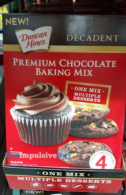 Duncan Hines Decadent Premium Chocolate Baking Mix