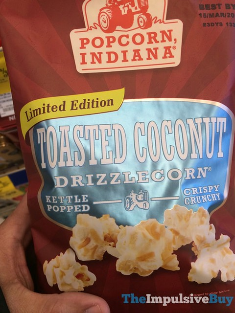 Popcorn Indiana Limited Edition Toasted Coconut Drizzlecorn
