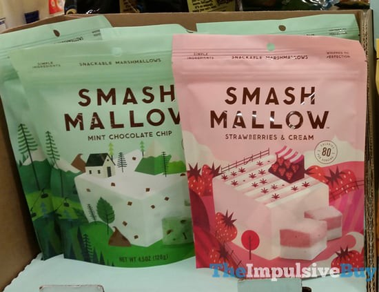 Smash Mallow (Mint Chocolate Chip and Strawberries & Cream)