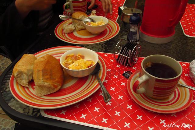 Hostal Las Luces (La Serena) - Desayuno