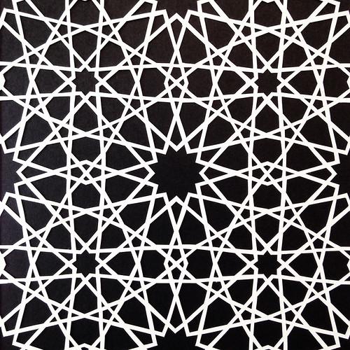paper cut pattern