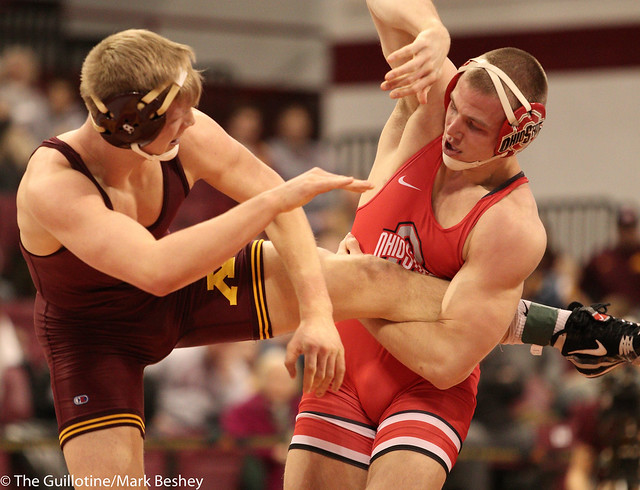 174 #1 Bo Jordan (Ohio State) fall Chris Pfarr (Minnesota) 2:15
