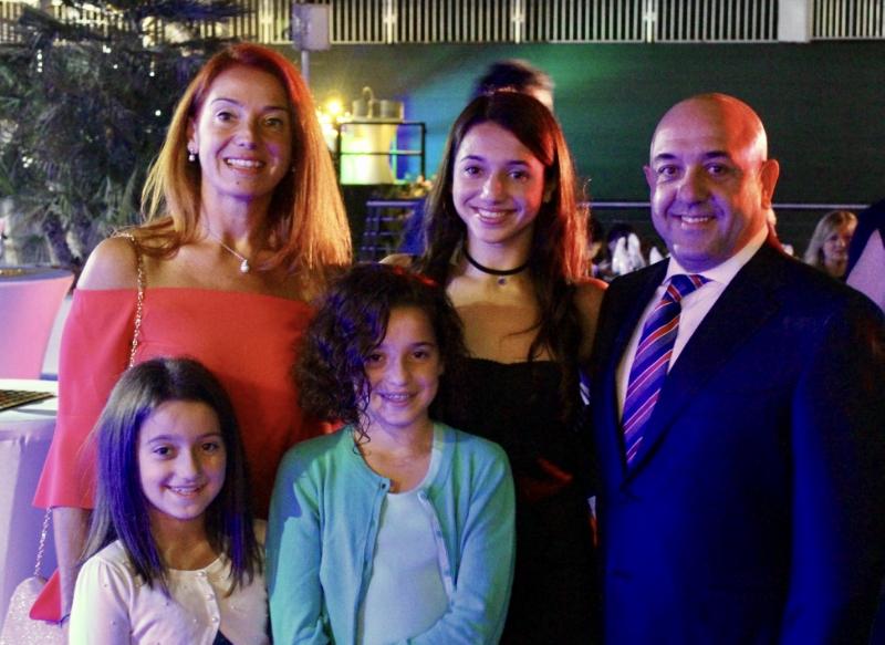 Scuola e Sport - Famiglia Iorini al gala hamilton aquatics