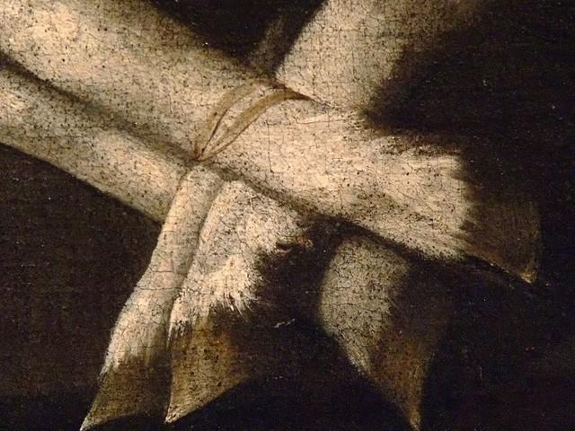 Agnus Dei by Francisco De Zurbaran Spain 1636 Oil Detail 2