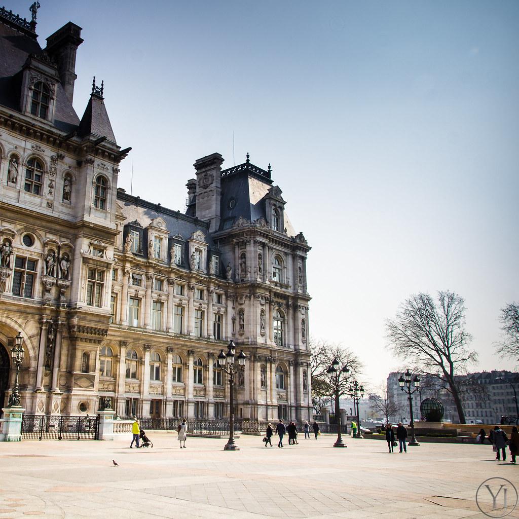 Hotel de ville de paris zeeyolq photography for Hotel deville paris