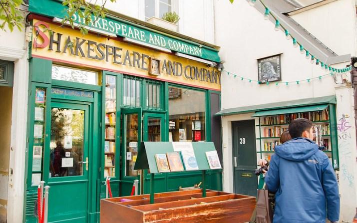 Shakespeare and Co Café, Paris