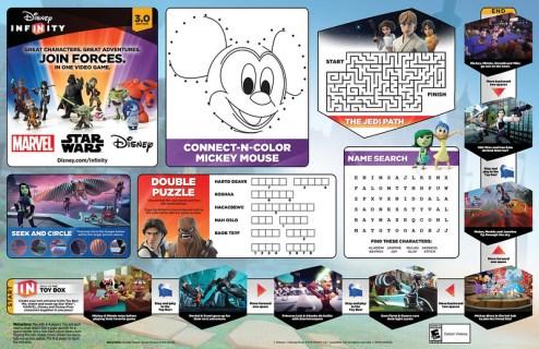 Disney Infinity 3.0 Edition   Disney Parks Placemat