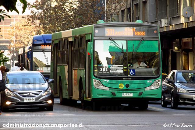 Transantiago - Buses Vule - Caio Mondego H / Mercedes Benz (BJFS71) (88)