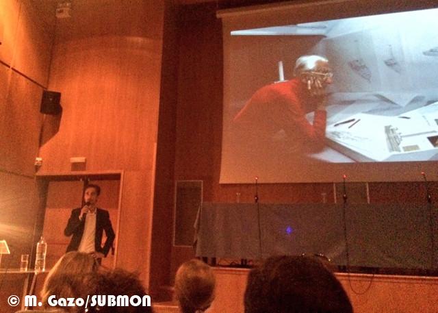 PI Custeau charla, conferencia EMSEA