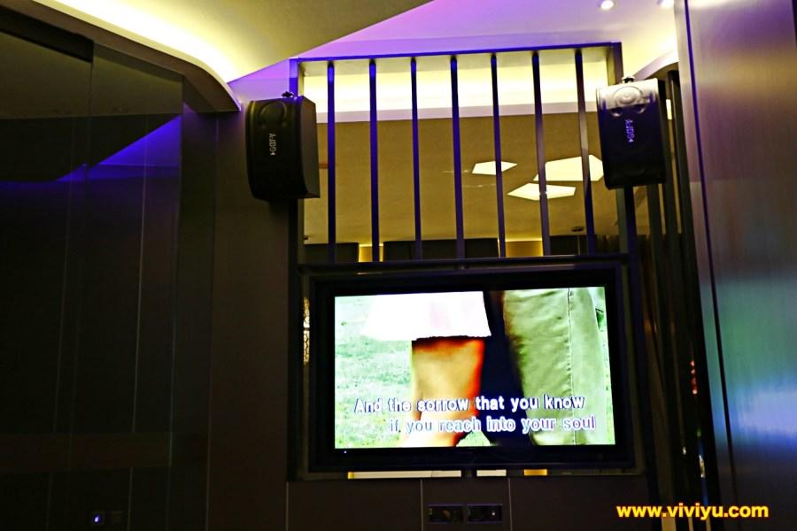 [台中·住宿]悅河精品旅館~房間即可歡唱KTV,開生日Party與聚會的最佳去處 @VIVIYU小世界