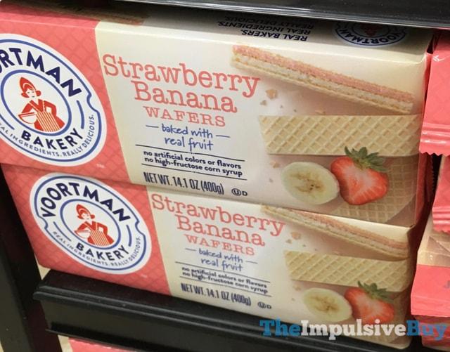 Voortman Bakery Strawberry Banana Wafers