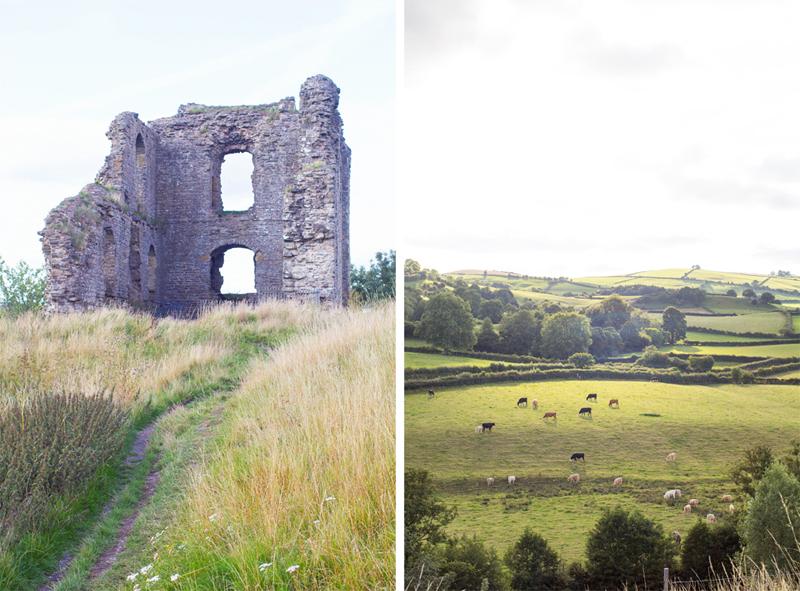 3 Clun Castle countryside