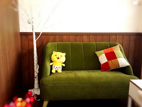 「ニャオざね」ちゃん、ひとつはいずみ建設下の美容院「Fika(フィーカ)」に貰 われていきました。 #kumagaya #熊谷市