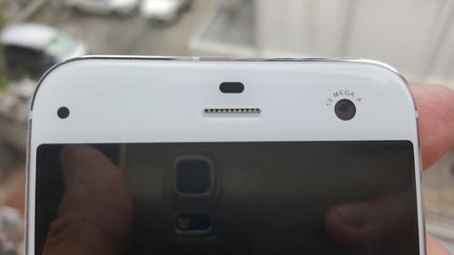 กล้องหน้า 13 ล้านพิกเซลพร้อมแฟลชของ ZTE Blade S7