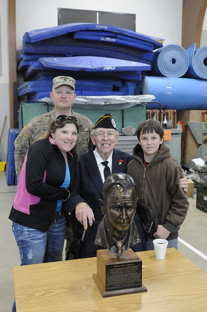 Litchfield and Local Veteran Honor Gen. John Vessey at Armory Open House