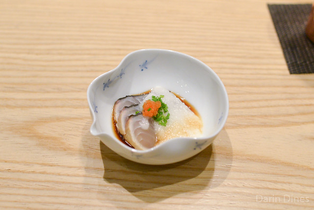 Japanese Mackerel with Ponzu and Mountain Yam