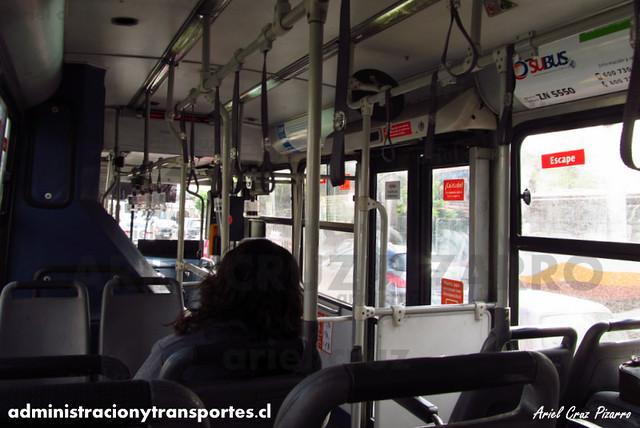 Transantiago - Subus Chile - Caio Mondego LA / Volvo (ZN5550) (9104)