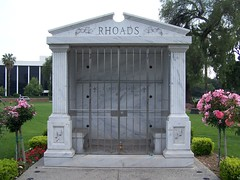 Randy Rhoads Grave Site - Closer