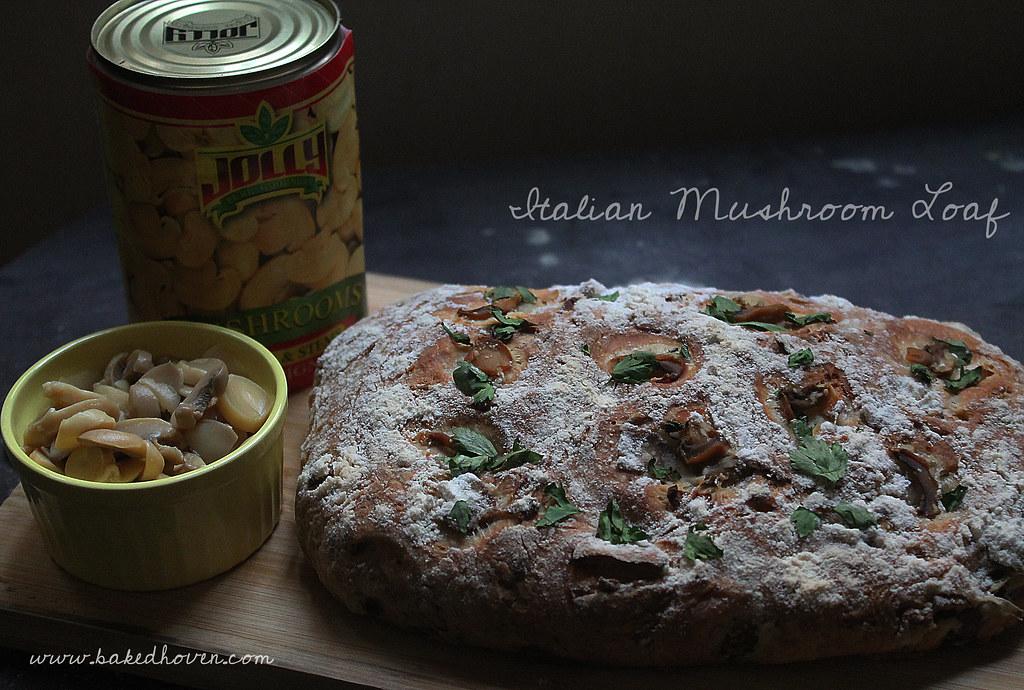 Italian Mushroom Bread copy