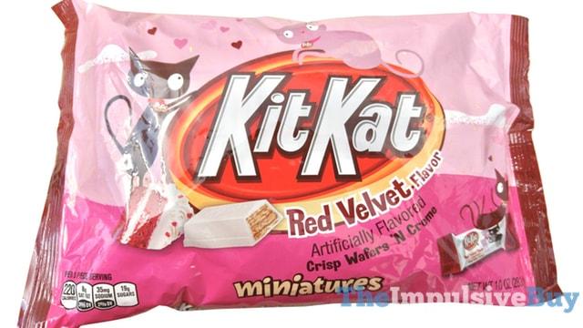 Red Velvet Kit Kat Miniatures