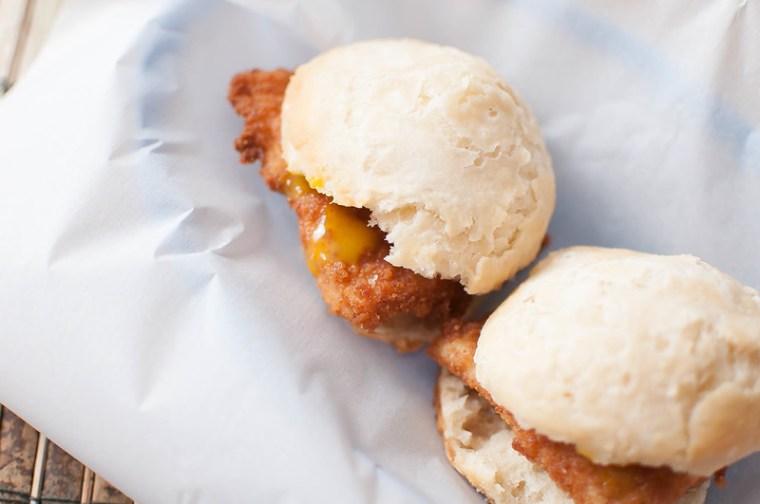 Graham Cracker Chicken Biscuits 1